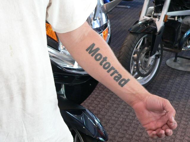 Bmw North America >> Bob's BMW Tattoos | Maryland Motorcycle Dealership | Bob's BMW