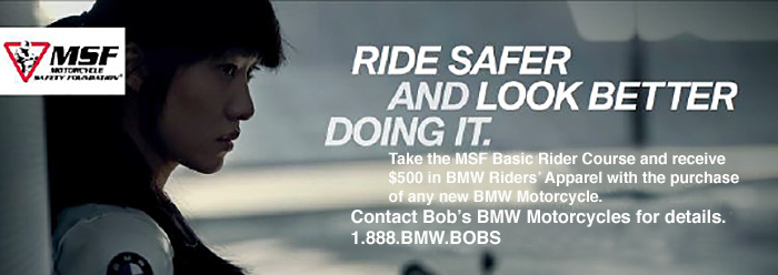 BBMW Motorcycle Safety program at Bob's BMW
