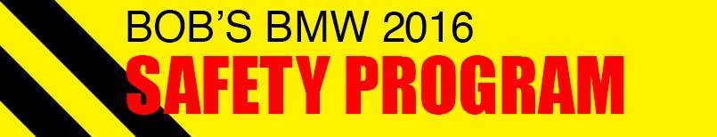 Bob's BMW Motorcycles Safety Programs
