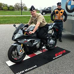 Military at Bob's BMW