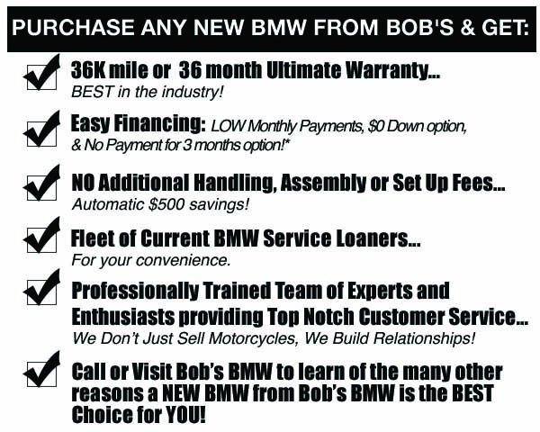 pre-owned bikes at Bob's BMW