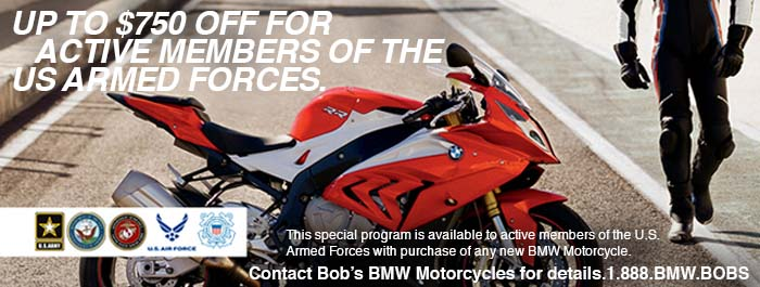 Military Savings at Bob's BMW