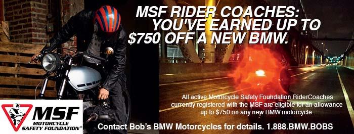 BMW Rider Coach program at Bob's BMW
