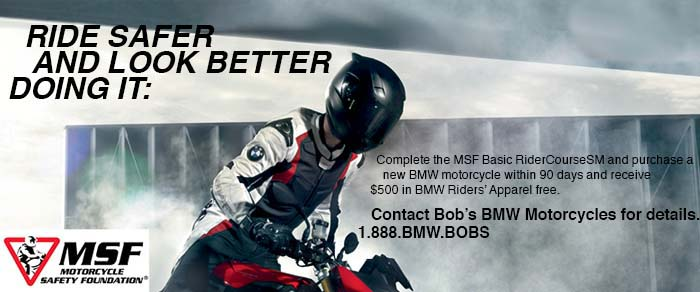 BMW Motorcycle Safety program at Bob's BMW