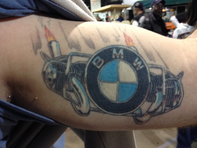 Used Motorcycle For Sale >> Bob's Tattoos | Bob's BMW Motorcycles