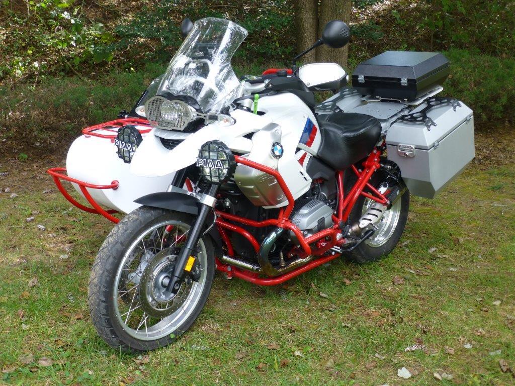 2012 BMW R1200GS with Custom Freedom Sidecar   Bob's BMW