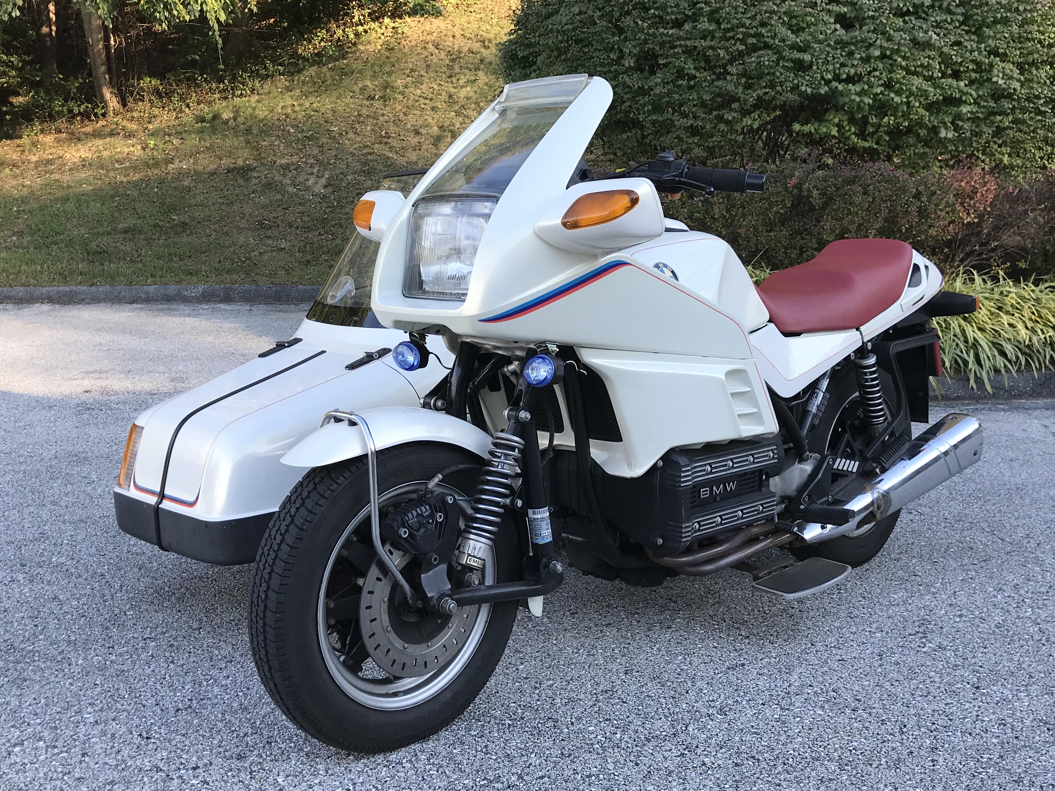 1987 K100RS & EML GT2 Sidecar