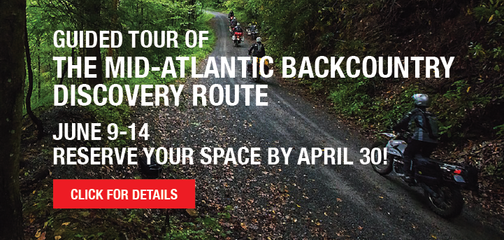 Guided Tour of The Mid-Atlantic BackCountry Discovery Route