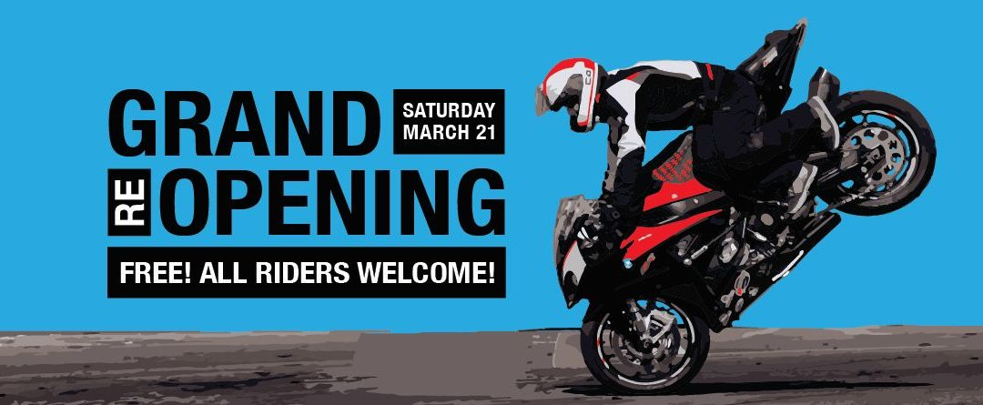 Grand Re-Opening Open House – POSTPONED