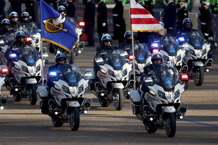 BMW Motorrad R 1250 RT-P featured in Presidential Inauguration Parade