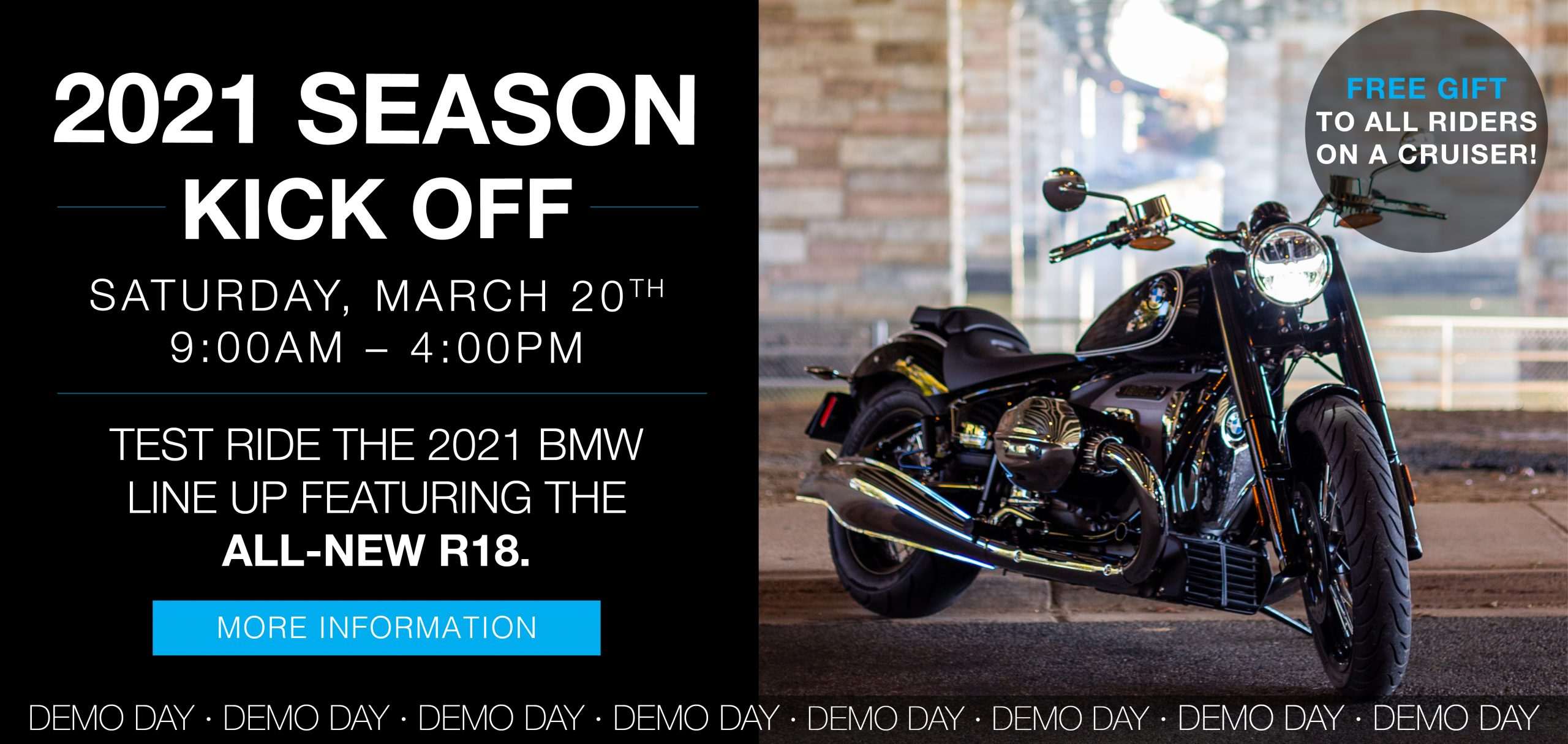 2021 Season Kick Off Demo Day @ Bob's BMW Motorcycles