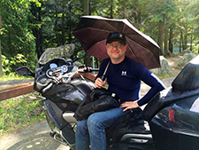 Artur Kustusch, Davidsonsville, MD with his 2014 R1200RTW.