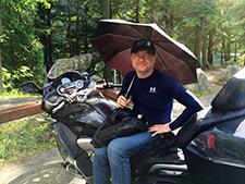 Artur Kustusch, Davidsonsville, MD with his 2014 R1200RTW.
