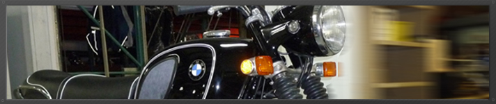 Bob's BMW motorcycle vintage restoration image
