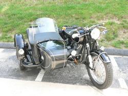 vintage motorcycle restoration image
