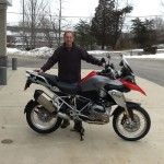 Tim Miller with his 2014 R1200GSW from Export, Pa.