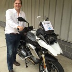 Greg in Jessup, MD with his 2014 BMW R1200GS
