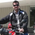 Aaron Stephens 2012 Triumph Speed
