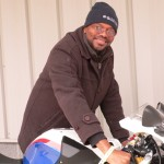 Al Leandre and his 2012 S1000RR