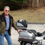 Al Brenik with his 2007 BMW K1200LT