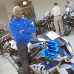 Al Leandre with his 2014 HP4 Competion