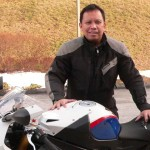 Alberto Clavecillas and his 2012 S1000RR