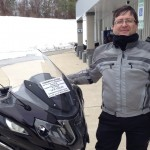 Arturo  with his 2014 R1200RT