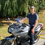 Brendan who just picked up his first BMW, a 2007 F800ST.