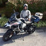 Ben who just picked with this 2017 R1200GSA.