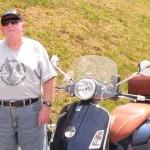 Bob Kleinhen 2007 Vespa 250 ie