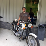 Congratulations to Brett on the purchase of his new 1972 R60/5.