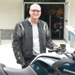Chris Walker and his 2012 BMW R1200RT.