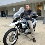 Christian just picked up his 2007 BMW F650GS.