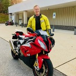 Dave and his 2015 BMW S1000RR.
