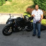 Dion Smith with his 2015 S1000RR from Laurel, MD
