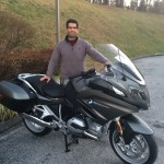 Efrain from Woodbridge, VA with his 2014 R1200RT.