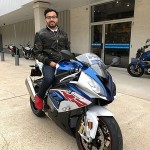 Faraz who just picked up this 2017 S1000RR.