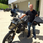 Eric and his new 2016 F800GSA.