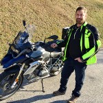 Tony and his new 2016 R1200GS, congratulations and thanks from all of us at Bob's!