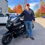 Congratulations to Henry who just picked up a 2018 K1600B.