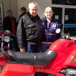 Howard & Suzan Bond with their R1100RS ProjectBike