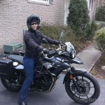 Lisa S., 2016 BMW F700GS.