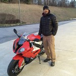 Russ Moises from Gaithersburg with his 2015 RR.