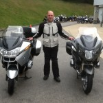 Dean Sherick from Alexandria, Va with his 2014 R1200RTW BEFORE and AFTER