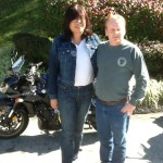 CHERRY & KELLY with their 2009 YAMAHA FZ1 from  ARLINGTON, VA