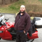 JASON BUDRECKI from NEWARK, DE with his 2009 BMW K1300GT