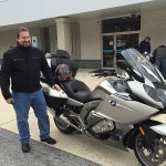 Burt from Bel Air and is new BMW K1600GTL.