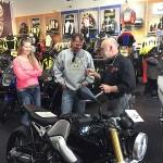 Brian Schroeder at Bob's BMW.