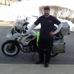 James Faedtke with his 2012 R1200GS from Middletown, Delaware