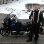 Rusty White with his 2003 R1150RT from Pasadena, MD.